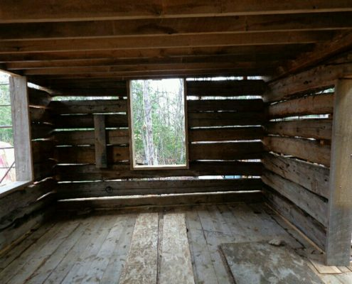 full log home restoration